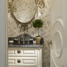 Traditional Powder Room by Marshall Morgan Erb Design Inc.