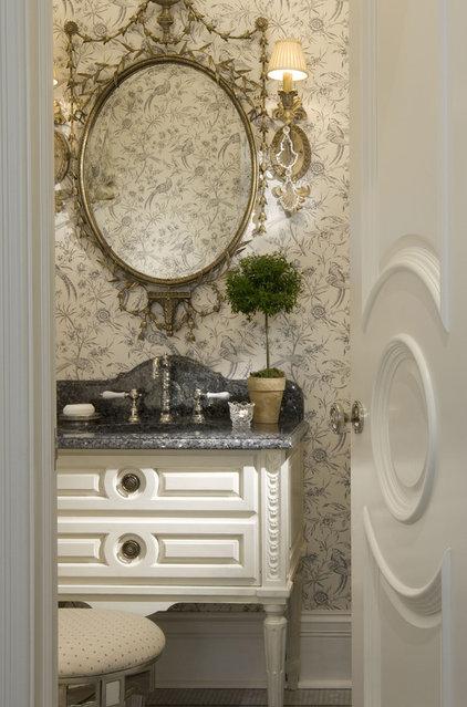 Traditional Powder Room by Marshall Morgan Erb Design Inc.