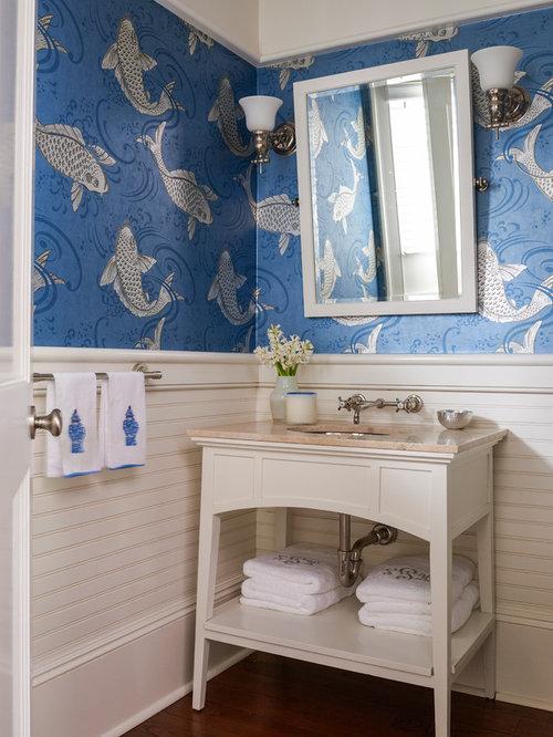 Idee e foto di bagni di servizio for Piccolo bagno mediterraneo