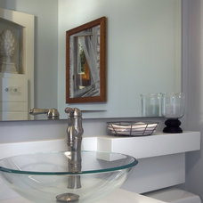 Contemporary Powder Room by Partners 4, Design