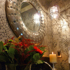 Powder Room by Kathleen Tapping Decor