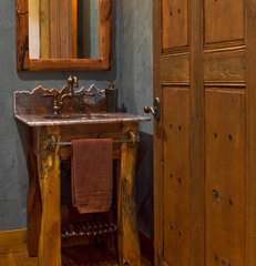 traditional powder room by Rick O'Donnell Architect