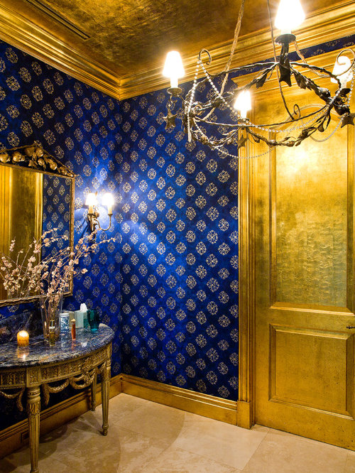 blue and gold home design ideas pictures remodel and decor best black gold office design ideas amp remodel pictures houzz