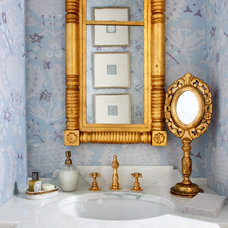 Contemporary Powder Room by Sara Tuttle Interiors