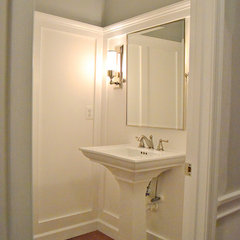 traditional powder room by sixteen fourteen