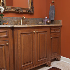 Traditional Powder Room by Kitchens Unlimited - Eileen Henry