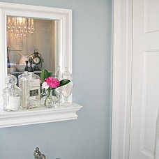 Eclectic Powder Room Powder Room Updates