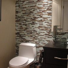 contemporary powder room by Urban Ideas Inc.