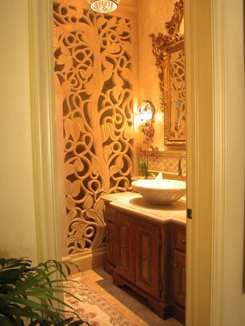 klassische g stetoilette g ste wc mit travertin waschtisch ideen f r g stebad und g ste wc. Black Bedroom Furniture Sets. Home Design Ideas