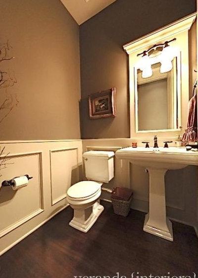 Traditional Powder Room by Veranda Estate Homes Inc.