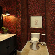 Traditional Powder Room by Willetts Design & Associates