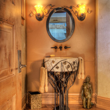 Powder Room with Impact