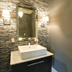 contemporary powder room by Your Space Our Design