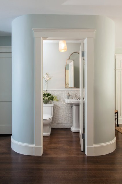 Traditional Powder Room by Roomscapes Luxury Design Center