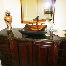 Traditional Powder Room by Grand Kitchen & Bath