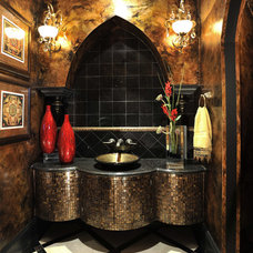 Modern Powder Room by The Design Firm