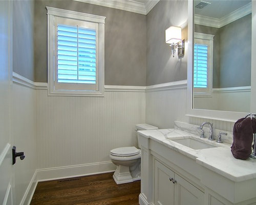 Powder Room Beadboard Home Design Ideas Pictures Remodel