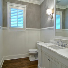 traditional powder room by Lakewest Builders, Inc.