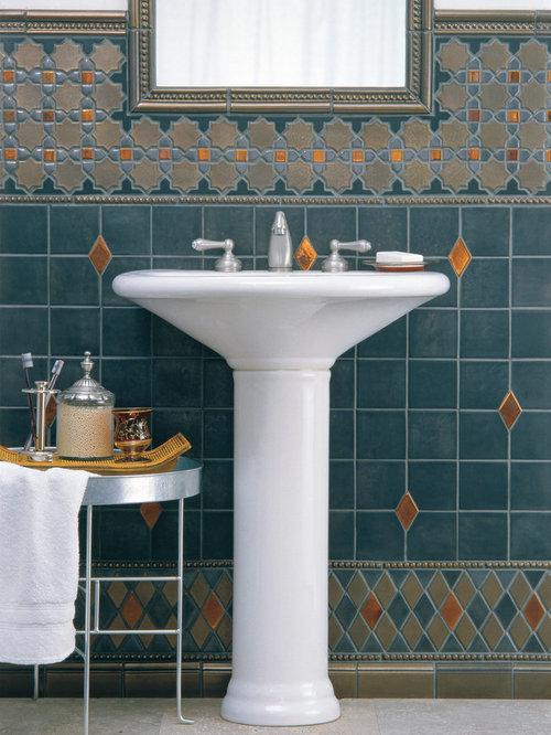 fascinating moroccan style bathroom | Moroccan Style Bathroom Home Design Ideas, Pictures ...