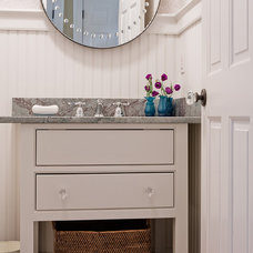 Traditional Powder Room by David Sharff Architect, P.C.