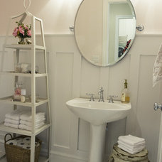 Traditional Powder Room by Alice Lane Home Collection