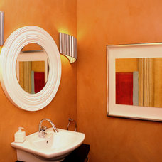 Contemporary Powder Room by ART DESIGN RESOURCES