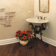 traditional powder room by Signature Innovations LLC