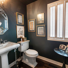 Traditional Powder Room by Royal Home Improvements