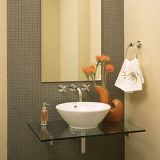 Contemporary Powder Room by Urban Design Group