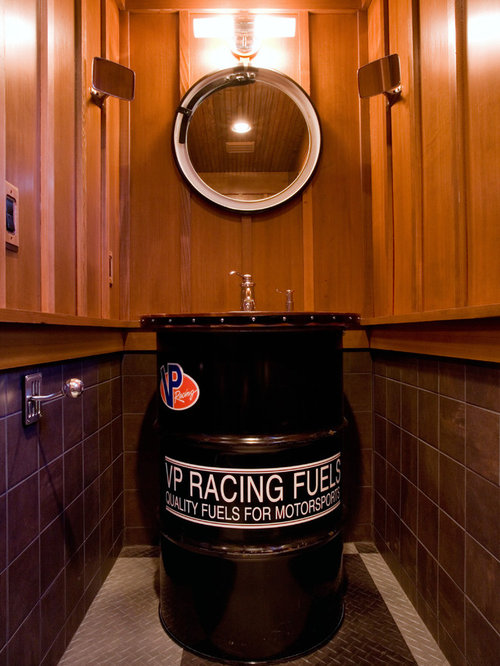 Man Cave Bathroom Houzz