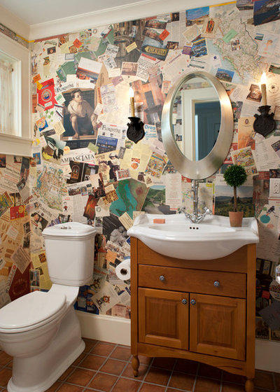 Traditional Powder Room by Ambiance Interiors