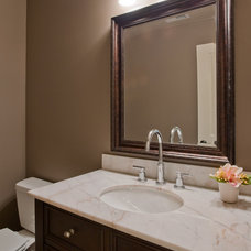 Traditional Powder Room by Lakeville Homes