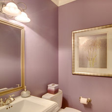 Traditional Powder Room by Your Total Renovation