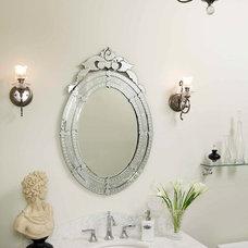 Traditional Powder Room by Regina Sturrock Design Inc.