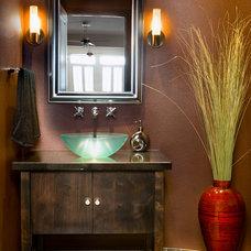 Contemporary Bathroom by Strite design + remodel