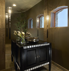 powder room by Ownby Design