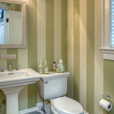 Traditional Powder Room by Kitchen Encounters