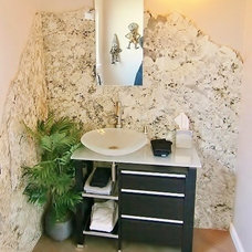 Modern Powder Room by PARADISE INTERIOR DESIGN