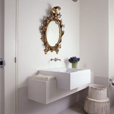 Contemporary Powder Room by Donald Lococo Architects