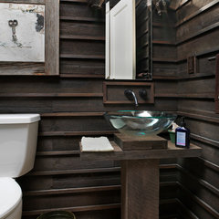 eclectic bathroom by Andrew Melaragno, AIBD