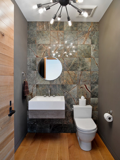 Unique wall tile home design ideas pictures remodel and - Powder room tile ideas ...