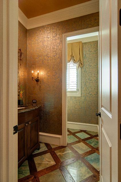 Traditional Powder Room by Glendarroch Homes