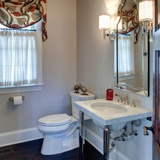 Traditional Powder Room by Jane Kelly, Kitchen and Bath Designer