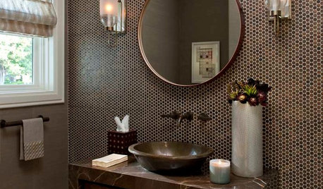 Powder Room Palettes: 10 Browns That Go Beyond Neutral