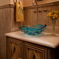 Traditional Powder Room by H. Allen Holmes, Inc.