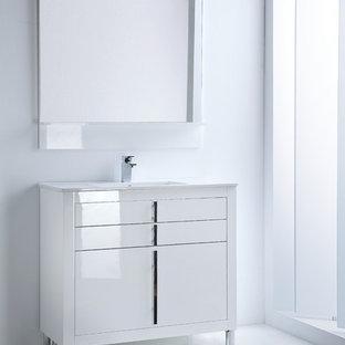 Lacquered Bathroom Vanity Houzz