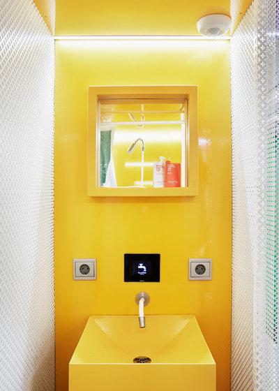 コンテンポラリー トイレ・洗面所 by Teresa Sapey + Partners