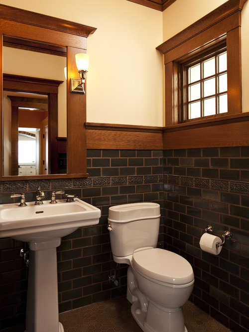Craftsman Style Bathroom Photos. Craftsman Style Bathroom Design Ideas   Remodel Pictures   Houzz