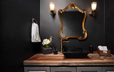 11 Smashing Black Bathrooms