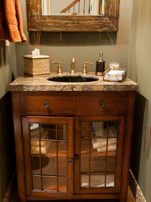 Rustic Half Bath Ideas Pictures Remodel And Decor